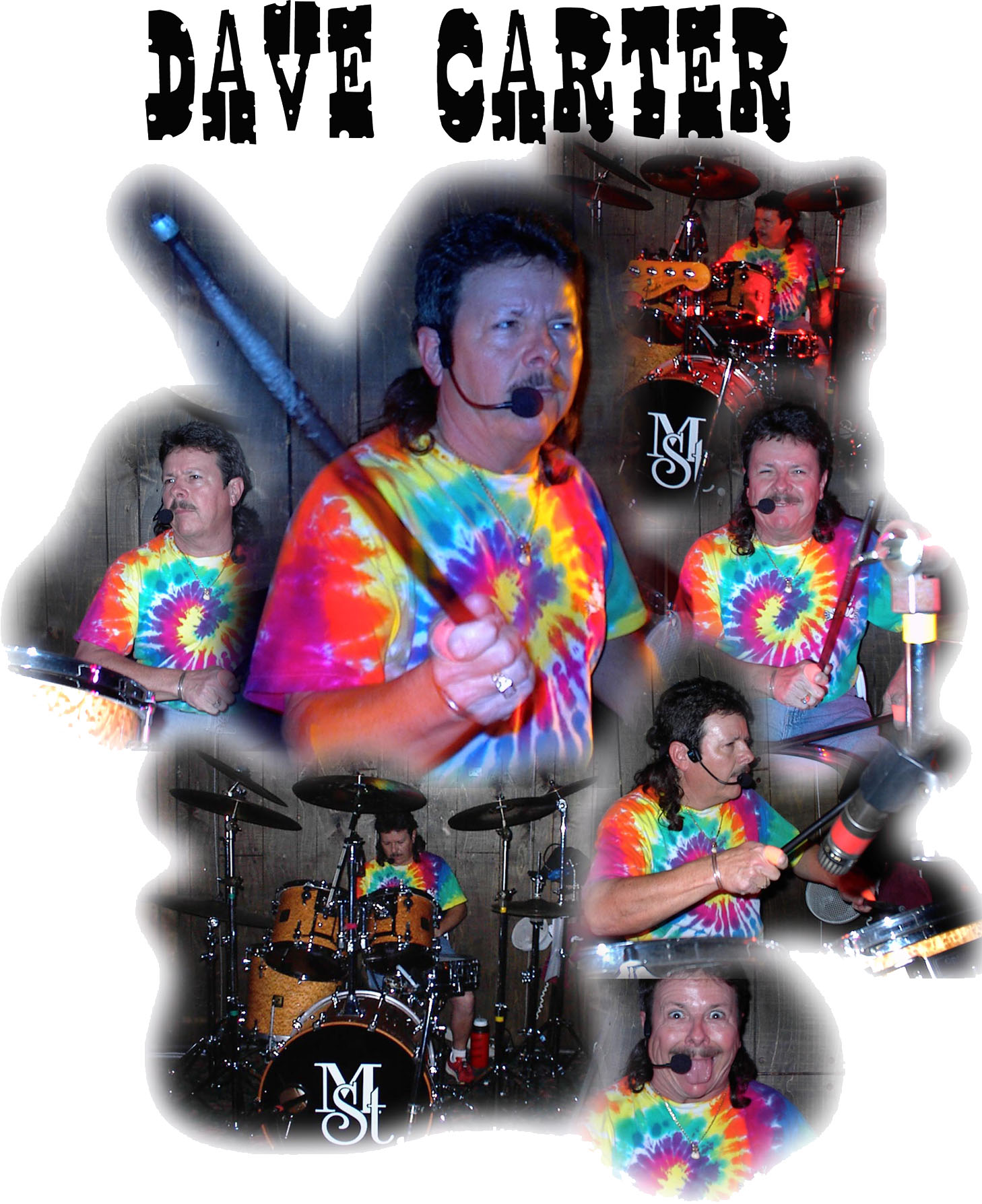 Colage Dave Carter