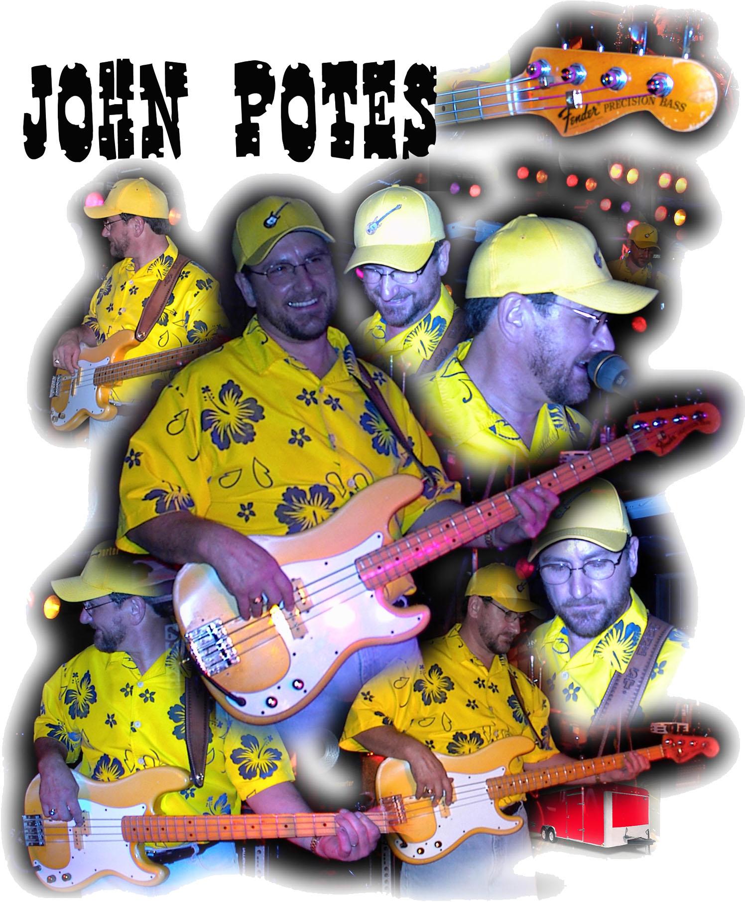 Colage John Potes